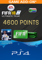 FIFA 18 Ultimate Team 4600 Points Pack (PS4)