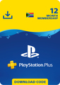 PlayStation Plus 12 Month Membership (ZA)