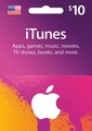 $10 US iTunes Gift Card