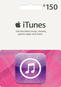 R150 itunes gift card digitalemail delivery prepaidgamer r150 itunes gift card negle Images