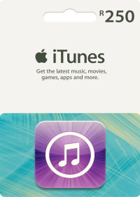 R250 iTunes Gift Card